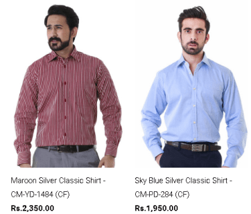 Formal And Casual Shirts By Gul Ahmed Latest Arrivals Price Images