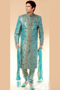Ammar Belal New Designed Sherwani Collections Colorful Stuff Price and Pics