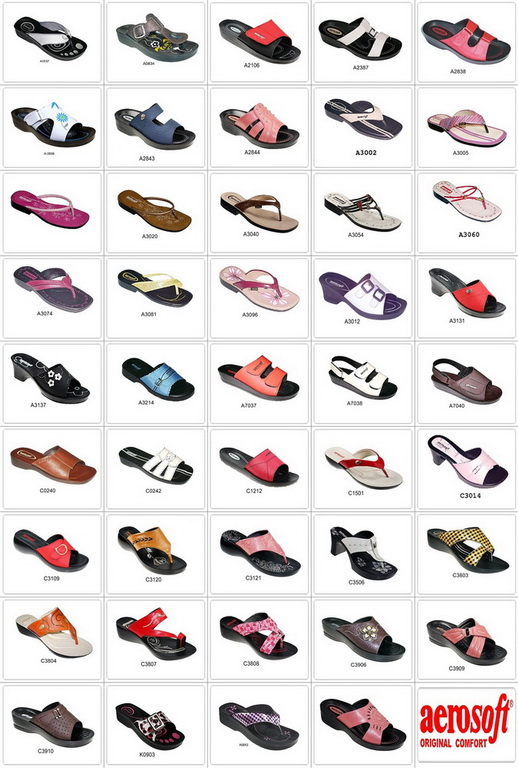 Ladies Summer Shoes Collections By Aerosoft Price Sale and Discounts