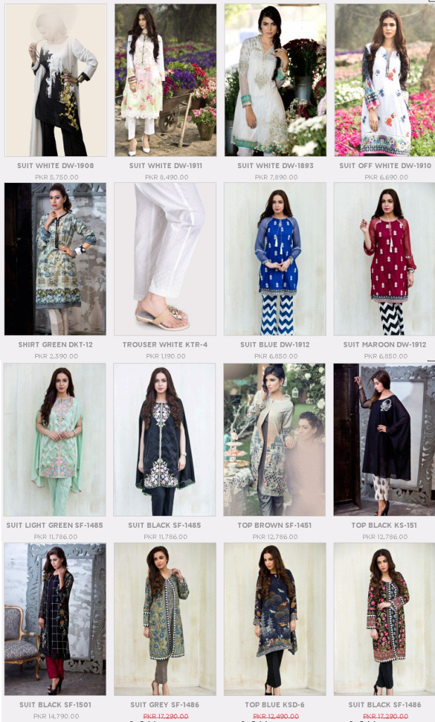 Maria B. Formal Casual Summer Dresses Collections For Ladies Price and Promotions