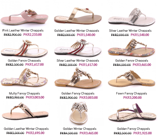 Insignia Ladies Summer Shoes Arrivals Sandals and Chappal Collections Price Images