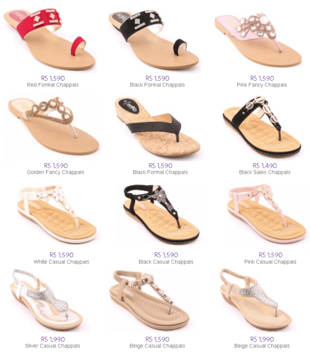 Summer Shoes Sandal and Chappal By Stylo For Ladies Latest Sales Discount Offers