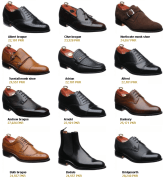 Barker Black Men's Moccasin and Professional Collections New Summer Arrivals with Price