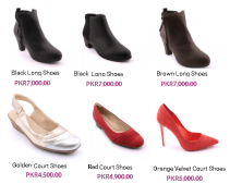 Latest Summer Insignia Long and Court Shoes For Women Price Colors Designs New Arrivals
