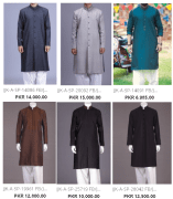 Embellished Kurta By Junaid Jamshed For Mens J. Summer Collections With Price