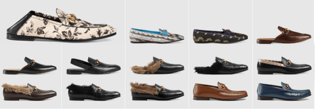 Gucci Men's Moccasins and Loafers Shoes In Leather Price Images On Sale
