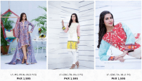 Ittehad Summer Ladies Kurtis Shirts Mulberry Rangoli Swiss Voil Collections with Price New Designs