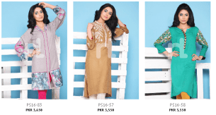 Nishat Linen Ladies Summer Fusion Tops and Texture Linen Design Collection 2016 with Price