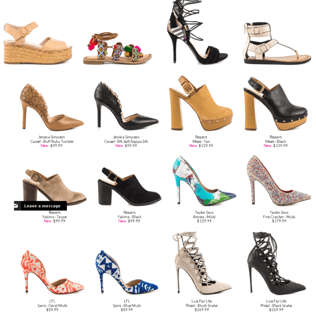 Eid Ladies Shoes Collections Summer 2016 Heels, Wedges, Sandals & Purses Very Comfortable