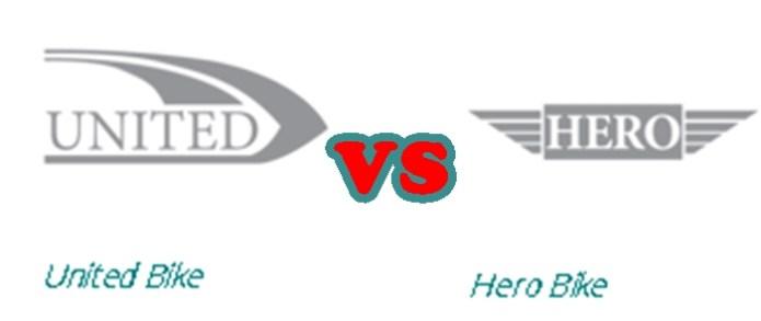 United Motorbike New Model 2016 vs Hero Motorcycle New Model 2016 Shape Price Specs Feature