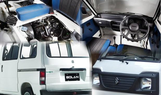 Suzuki Bolan Cargo Van Euro ll 2017 Model Price in Pakistan New Shape Feature and Mileage