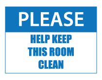 help keep this room clean sign thumb