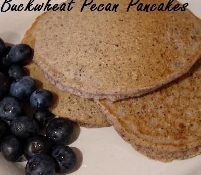 Buckwheat Pecan Pancakes