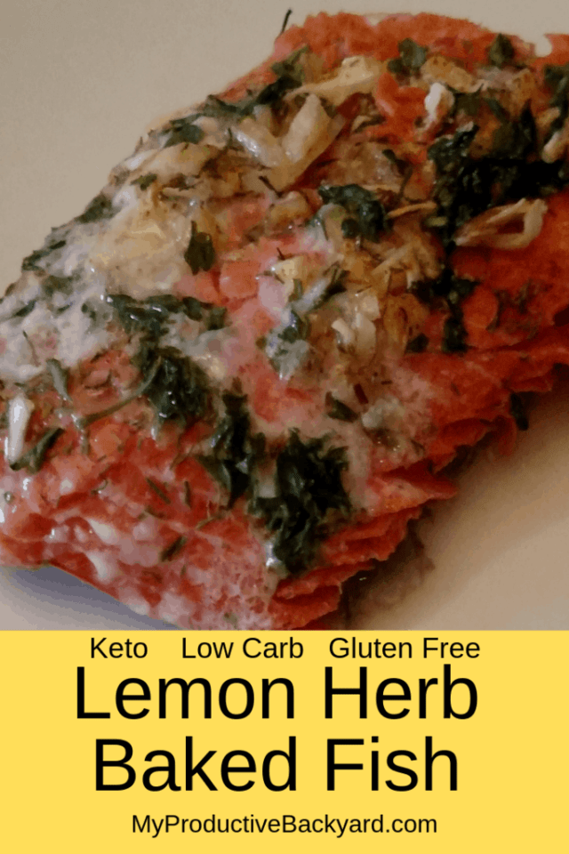 Lemon Herb Baked Fish