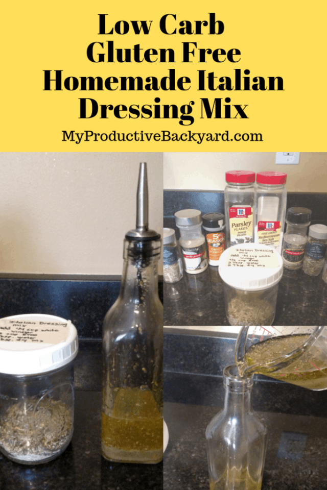 Homemade Italian Dressing Dry Mix