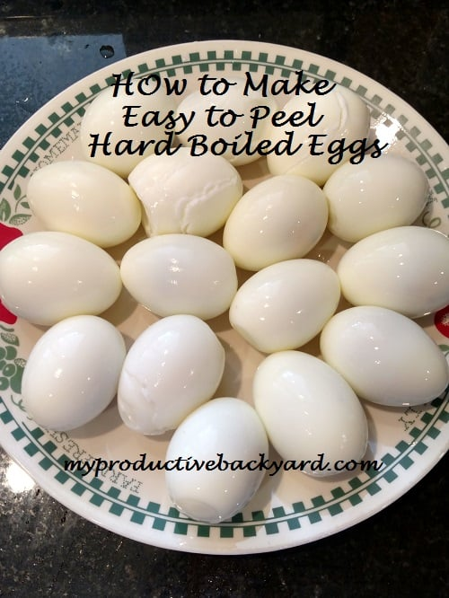 How to Make Easy to Peel Hard Boiled Eggs