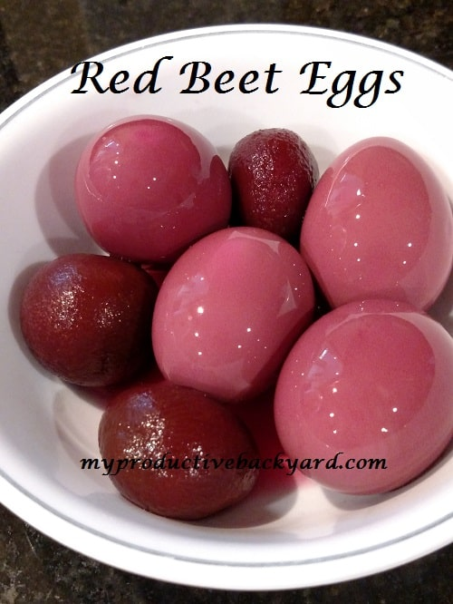 Red Beet Eggs