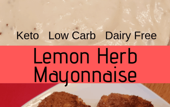 Lemon Herb Mayonnaise