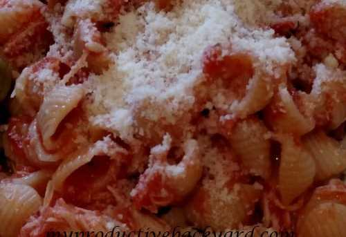 Chicken and Shell Pasta