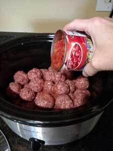 Low Carb Crock Pot Meatballs