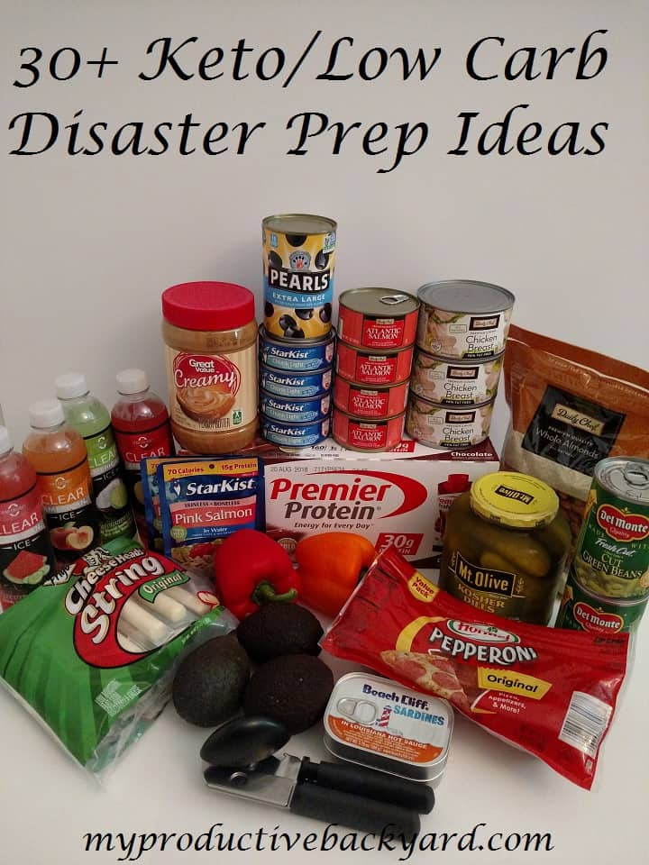 30 Keto Low Carb Disaster Prep Ideas