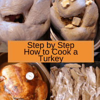 Step by Step How to Cook a Turkey