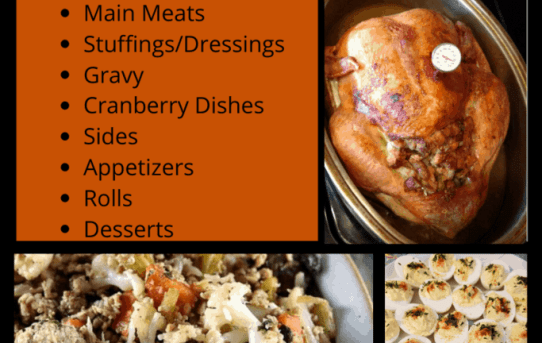 43 Low Carb Keto Holiday Meal Ideas collage