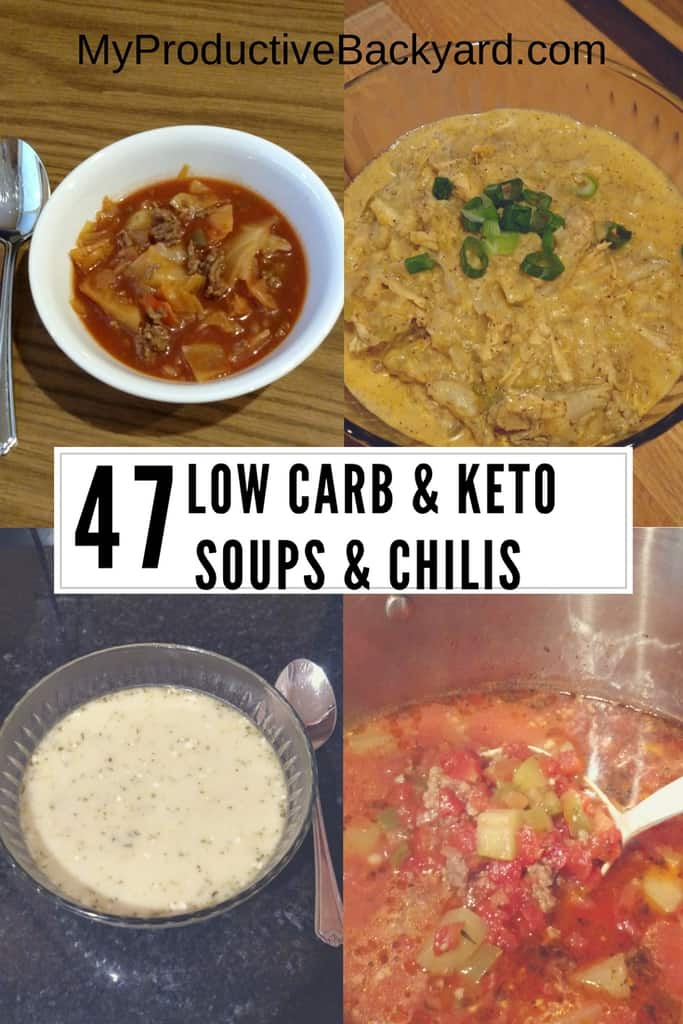 47 Low Carb Keto Soups and Chilis
