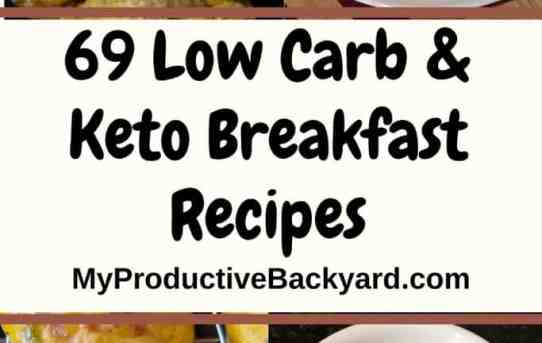 69 Low Carb Keto Breakfast Recipes