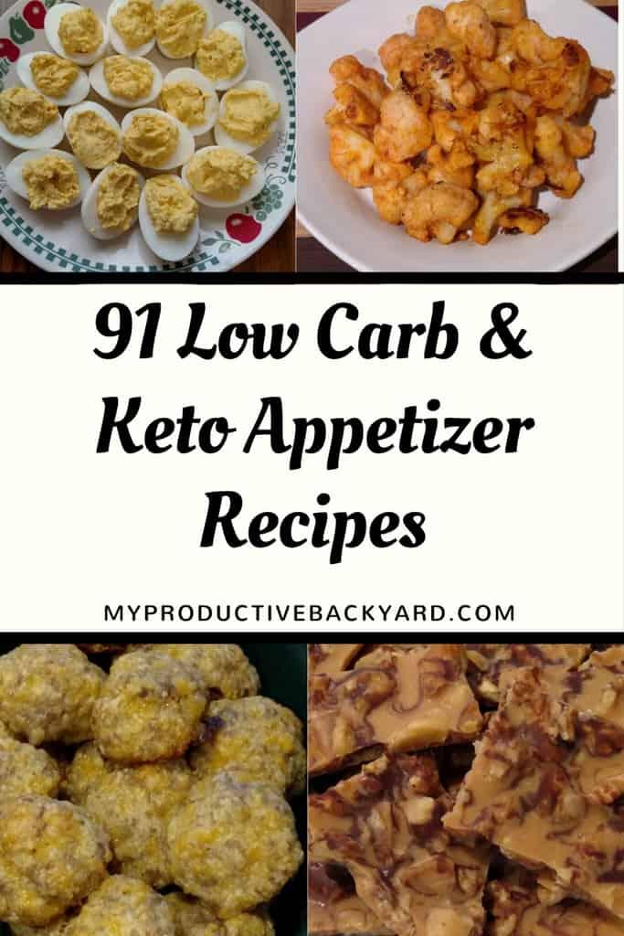 91 Low Carb Keto Appetizer Recipes