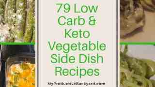 79 Low Carb Keto Vegetable Side Dish Recipes