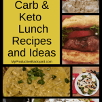 Hundreds of Low Carb Keto Lunch Recipes and Ideas collage