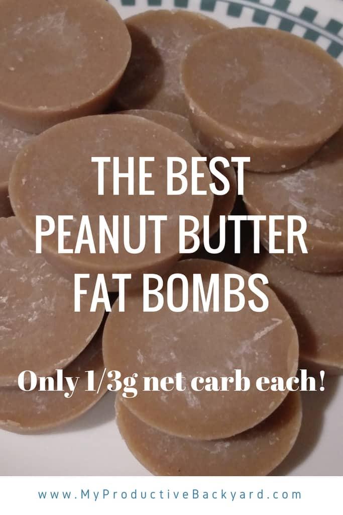 The Best Peanut Butter Fat Bombs