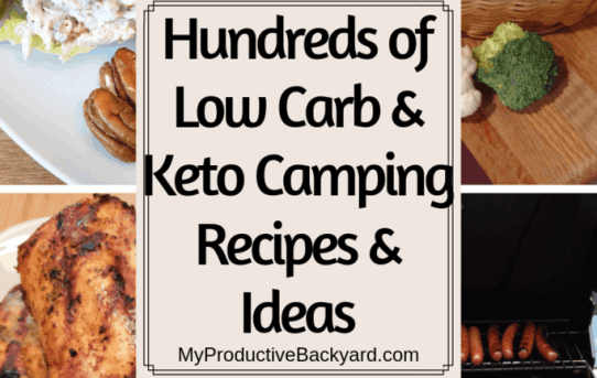 Hundreds of Low Carb Keto Camping Recipes and Ideas