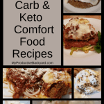 Hundreds of Low Carb Keto Comfort Food Recipes collage