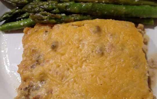Keto Cheesy Taco Beef Cassserole