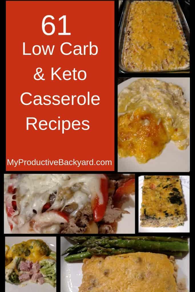 61 Low Carb & Keto Casserole Recipes