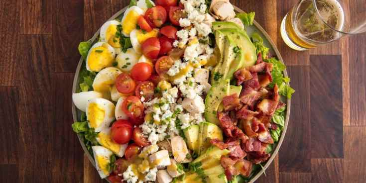 Best Cobb Salad Recipe - How to Make Cobb Salad