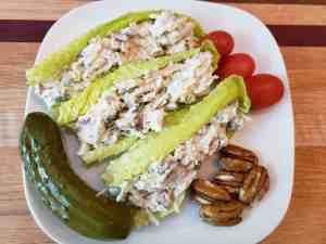 Deluxe Keto Chicken Salad