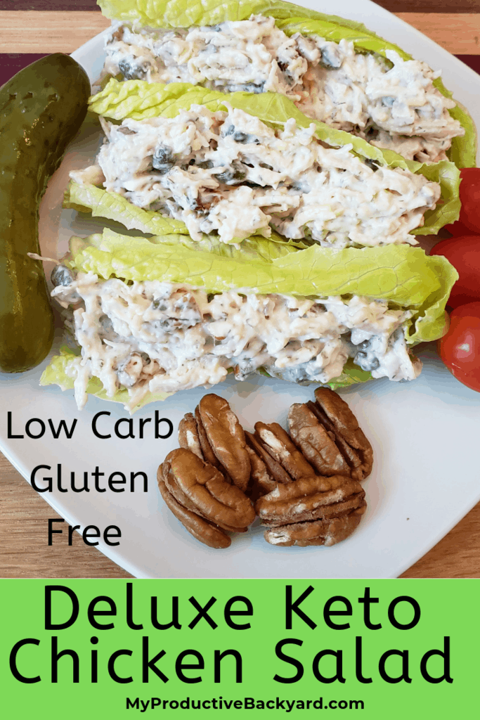 Deluxe Keto Chicken Salad
