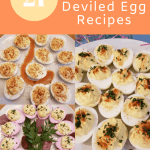 Low Carb Keto Deviled Egg Recipes collage