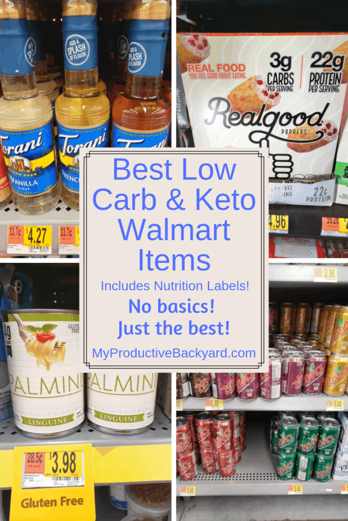 Best 60 Low Carb Keto Walmart Items