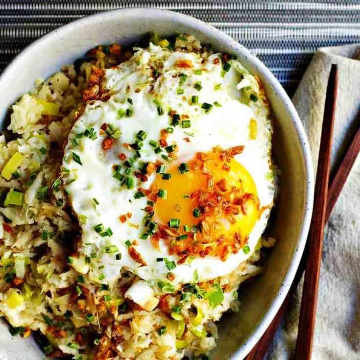 Easy Cauliflower Fried Rice