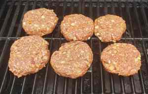 Best Low Carb Burgers on the grill raw