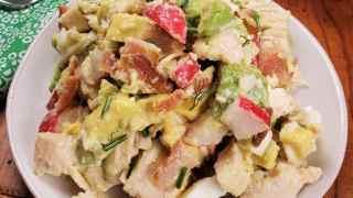 Instant Pot Low Carb Avocado Chicken Salad w/Homemade Vinaigrette