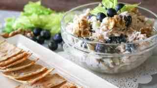 Blueberry Walnut Chicken Salad