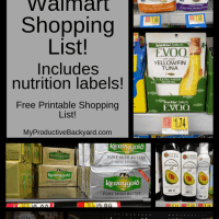 150+ Clean Keto Walmart Shopping List