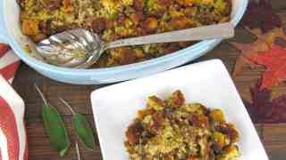 Herb Sausage Stuffing Keto/Low Carb/Gluten Free