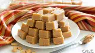 Cream Cheese Peanut Butter Fudge - Sugar Free