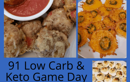 91 Low Carb Keto Appetizer Recipes